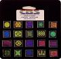 20 Small Dichroic Icon Pinwheels - 90 COE