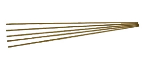 1/16 Brass Rods - 5 Pack