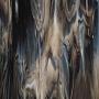 Bullseye Dark Brown, White Opal Streaky - 90 COE