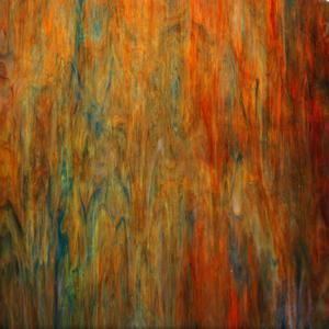 8 x 16 Kokomo Ruby Red, Lime Green & Blue Opal