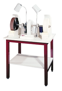 Glastar Production Glass Polishing Station, Floor Model