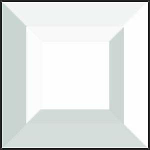 1-1/2 Square Double Bevel