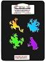 Dichroic Pre-cut Small Frogs - 96 COE