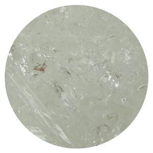 8.5 Oz Clear Transparent Coarse Frit - 96 COE