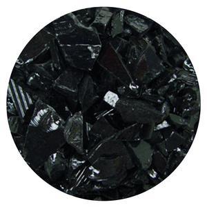 8.5 Oz Black Opal Coarse Frit- 96 COE