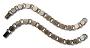 Antique Copper Round Disk Bracelets - 2 Pack