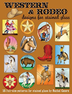 Western and Rodeo Designs for Stained Glass