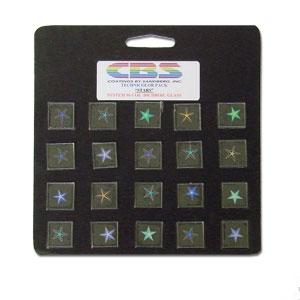 20 Small Technicolor Dichroic Stars - 96 COE