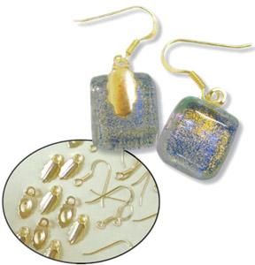 Gold Earring Findings Kit