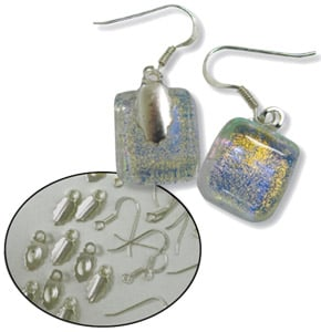 Sterling Silver Earring Findings Kit