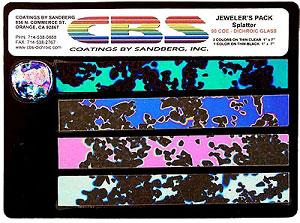 CBS Large Splatter Dichroic Pack - 96 COE