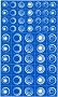 Rub N Etch Stencil - Geometric Circles