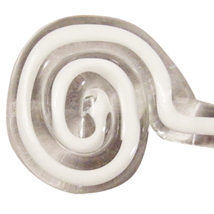 White Filigrana Single Rod - 104 COE