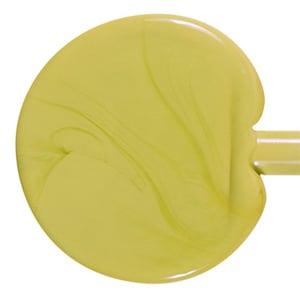 Pea Green Pastel Opaque Single Rod - 104 COE