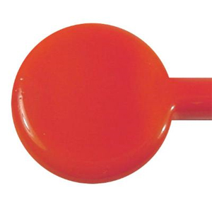 Carrot Red Special Opaque Single Rod - 104 COE