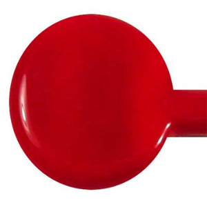 Medium Red Special Opaque Single Rod - 104 COE