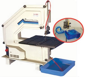 Diamond Laser 5000 Bandsaw With Water Pump System - International Voltage