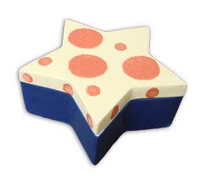 6 Bisque Star Box