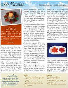 Free Autumn Wreath Project Instructions