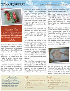 Free Poinsettia Plate Project Instructions