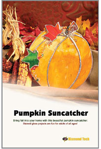 Free Pumpkin Suncatcher Project Instructions