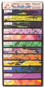 Dichroic Specialty Glass Strip Pack - 96 COE