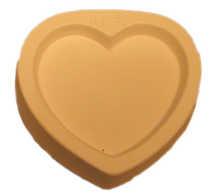 Curved Heart Casting Mold