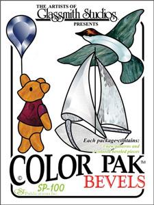 Color Pak #1 Bevel Clusters - Bear, Boat & Bird
