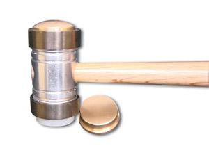 Interchangeable Heads Jewelry Hammer