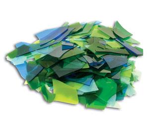 Blue and Green Confetti Mix - 96 COE