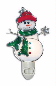Pre-Cut Snowman Night Light Kit