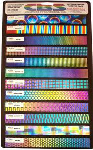 Dichroic Patterns Galore 1 x 8 - 96 COE