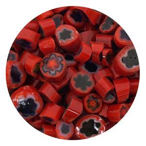 Red Millefiori - 2 Oz