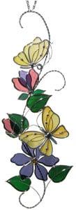 Pre-cut Yellow Butterflies Scroll Kit