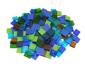 Sytem 96 1/2 Glass Chips Land And Sea Assortment