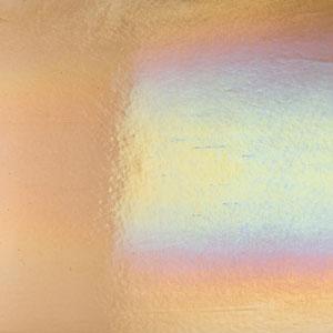 Bullseye Light Bronze Rainbow Iridized Double Rolled - 90 COE