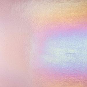 Bullseye Light Violet Rainbow Iridized Double Rolled - 90 COE
