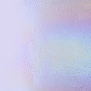 Bullseye Neo-lavender Shift Tint Rainbow Iridized Double Rolled - 90 COE