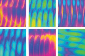 Dichromagic Freaky Tie Dye Sampler On Thin Clear - 90 COE