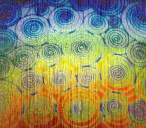 Far Out Tie Dye On Black Fipple - 90 COE