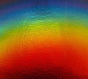 Rainbow 2 on Thin Black - 90 COE