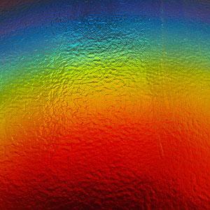 DichroMagic Rainbow On Thin Black - 96 COE