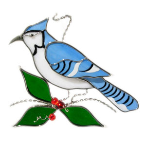 Blue Jay Suncatcher