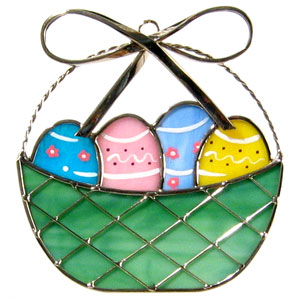 Easter Basket Suncatcher