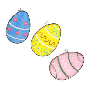 Easter Eggs Suncatcher - 3 Pack