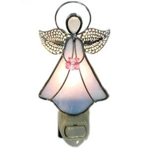 White Angel Night Light