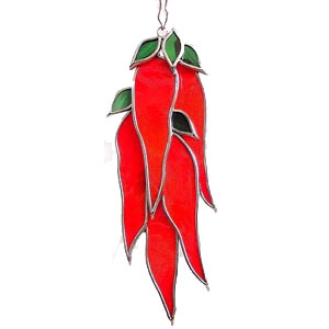 Chili Peppers Suncatcher