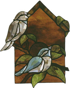 Free Birdhouse Bevel Pattern ( Faces Right)
