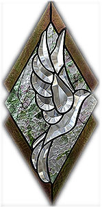 Stained Glass Express :: Free Patterns :: 3-D Ivy Bevel Panel Kit