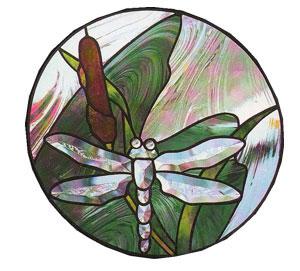 Free Dragonfly Bevel Panel Pattern